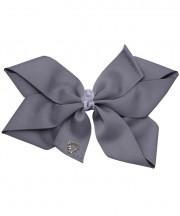 Cheer Bow - Metal Grey
