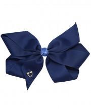 Cheer Bow - Navy