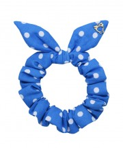 SS SCRUNCHIE Polka Dot Blue