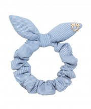 SS Scrunchie Pinstripe - Light Grey