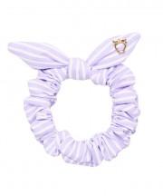 SS Scrunchies - Lilac & White