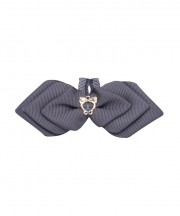 Cupid Bow Tie - metal grey