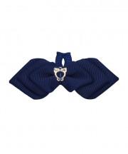 Cupid Bow Tie - navy