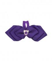Cupid Bow Tie - plum