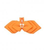 Cupid Bow Tie - tangerine