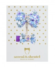 Easter Bow Clip Set - Violet