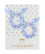 Easter Mini Scrunchie Set - Violet