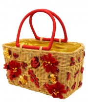 Mother's Day Basket - Red & Gold_1