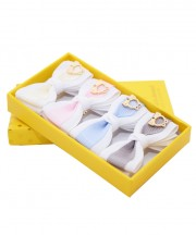 baby bow clips - pastels