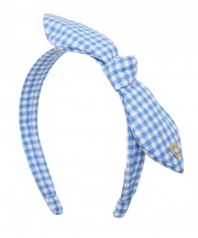 Gingham Twist - Light Blue